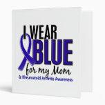 I Wear Blue Mom Rheumatoid Arthritis RA Binders