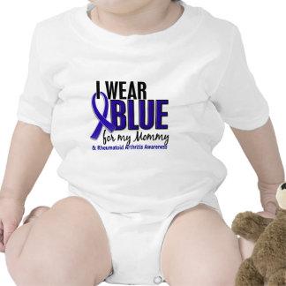 I Wear Blue Mommy Rheumatoid Arthritis RA Baby Bodysuits