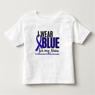 I Wear Blue Nana Rheumatoid Arthritis RA T Shirts