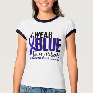 I Wear Blue Patients10 Rheumatoid Arthritis RA T Shirts