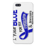 I Wear Blue Stepdaughter 42 Ankylosing Spondylitis iPhone 5 Covers