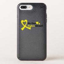 I Wear Gold Childhood Cancer Awareness support Speck iPhone Case