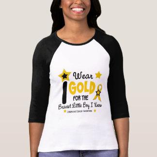 I Wear Gold For Bravest Boy 12 STAR VERSION Tee Shirt