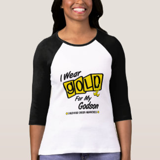 I Wear Gold For My GODSON 8 T-Shirt
