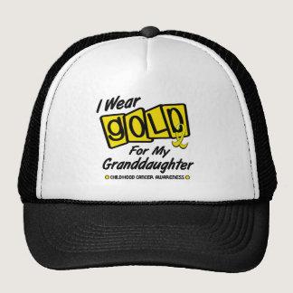 I Wear Gold For My GRANDDAUGHTER 8 Trucker Hat