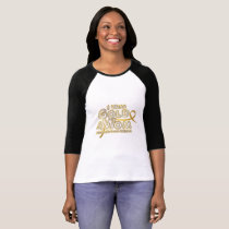 I Wear Gold For My Mom Childhood Cancer Awareness T-Shirt