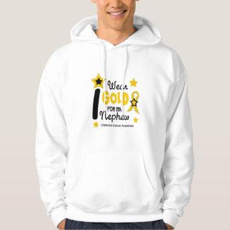 I Wear Gold For My Nephew 12 STAR VERSION Hooded Sweatshirt