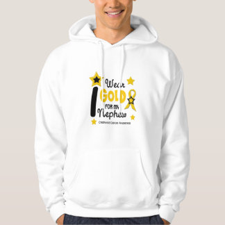 I Wear Gold For My Nephew 12 STAR VERSION Hoodie