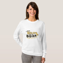 I Wear Gold For My Sister Childhood Cancer T-Shirt