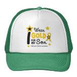 I Wear Gold For My Son 12 STAR VERSION Trucker Hat