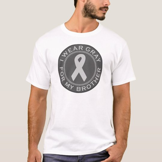 I Wear Gray For My Brother T-Shirt