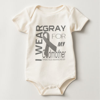 I wear gray for my Godmother Diabetes Awareness Bodysuit