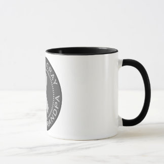 I Wear Gray For My Grandpa Mug
