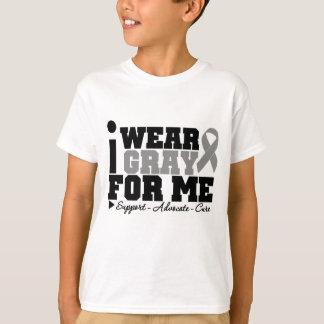I Wear Gray Ribbon For Me T-Shirt