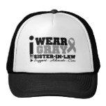 I Wear Gray Ribbon For My Sister-in-Law Trucker Hat