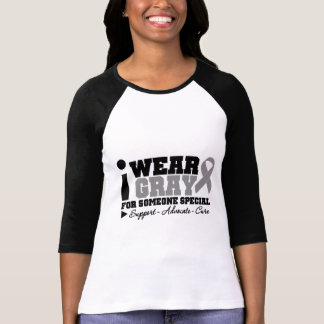 I Wear Gray Ribbon For Someone Special T-shirt