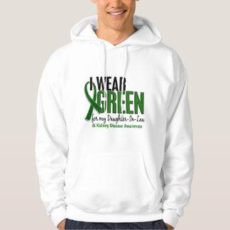 I Wear Green Daughter-In-Law 10 Kidney Disease Hoodie