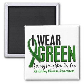 I Wear Green Daughter-In-Law 10 Kidney Disease Magnet