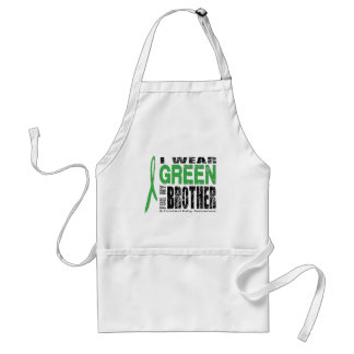 I wear green for CP Adult Apron