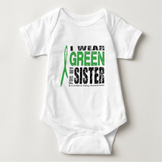 I wear green for CP Baby Bodysuit
