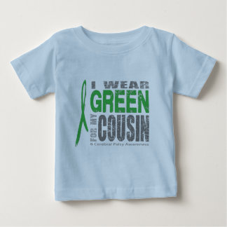 I wear green for CP Baby T-Shirt