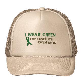 I Wear Green For DARFUR'S ORPHANS Trucker Hat