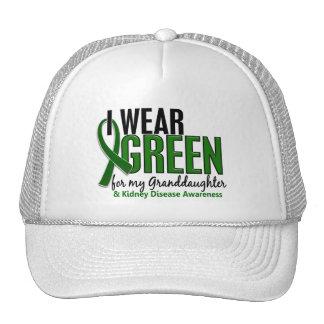 I Wear Green For Granddaughter 10 Kidney Disease Trucker Hat
