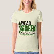I Wear Green For Granddaughter 10 Kidney Disease T-Shirt
