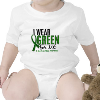 I Wear Green For ME 10 Cerebral Palsy Baby Bodysuit
