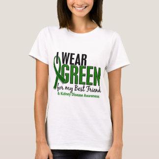 I Wear Green For My Best Friend 10 Kidney Disease T-Shirt