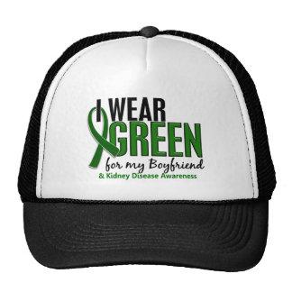 I Wear Green For My Boyfriend 10 Kidney Disease Trucker Hat