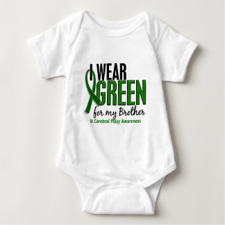 I Wear Green For My Brother 10 Cerebral Palsy T-shirt