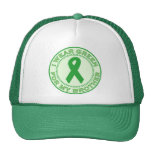 I Wear Green For My Brother Trucker Hat