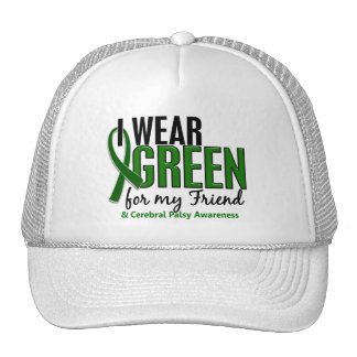 I Wear Green For My Friend 10 Cerebral Palsy Trucker Hat