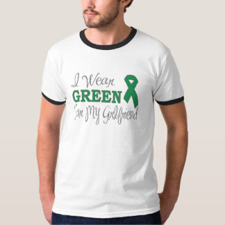 I Wear Green For My Girlfriend (Green Ribbon) T-Shirt
