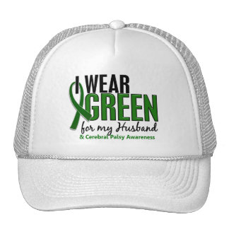 I Wear Green For My Husband 10 Cerebral Palsy Trucker Hat