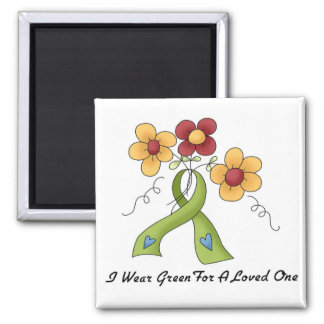 I Wear Green For My Loved One Magnet