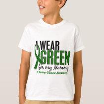 I Wear Green For My Mommy 10 Kidney Disease T-Shirt