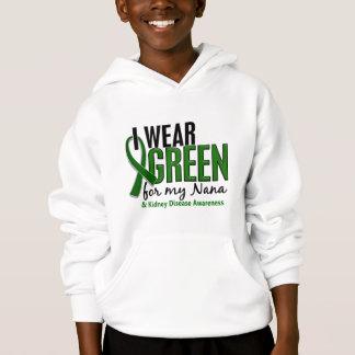 I Wear Green For My Nana 10 Kidney Disease Hoodie
