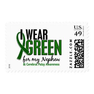 I Wear Green For My Nephew 10 Cerebral Palsy Postage Stamp
