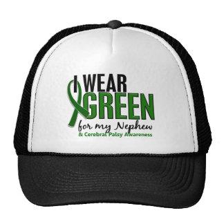 I Wear Green For My Nephew 10 Cerebral Palsy Trucker Hat