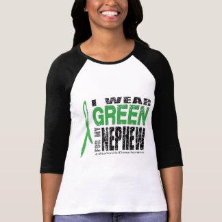 I wear green for my nephew tee shirt