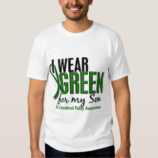 I Wear Green For My Son 10 Cerebral Palsy T Shirts