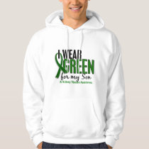 I Wear Green For My Son 10 Kidney Disease Hoodie