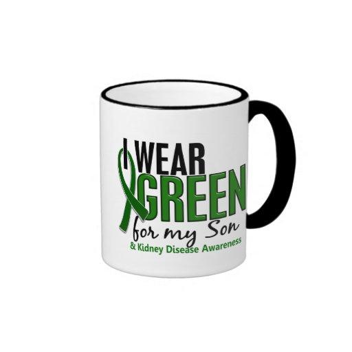 I Wear Green For My Son 10 Kidney Disease Mug