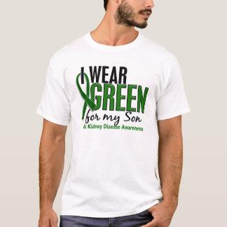 I Wear Green For My Son 10 Kidney Disease T-Shirt