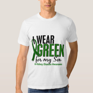 I Wear Green For My Son 10 Kidney Disease T-shirts