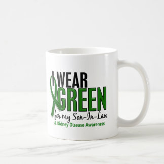 I Wear Green For My Son-In-Law 10 Kidney Disease Classic White Coffee Mug