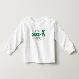 I Wear Green For My Step-Dad (Green Ribbon) Toddler T-shirt