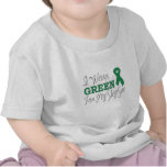 I Wear Green For My Step-Son (Green Ribbon) T-shirt